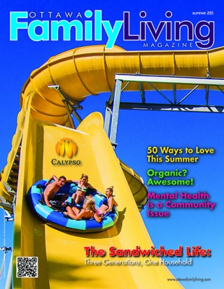 Ottawa Family Living Magazine, Summer 2013 cover