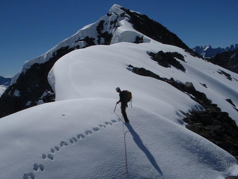Mountain climbing. July 2010.