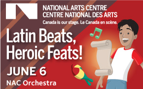 Latin Beats NAC show, June 6