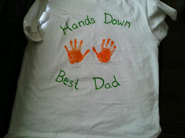 Max's present to his Daddy