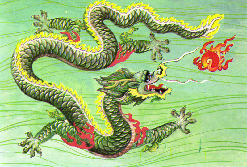 real chinese dragon