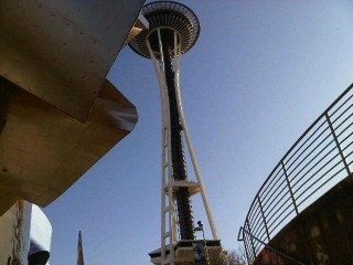 The Space Needle (and SUN!!!)