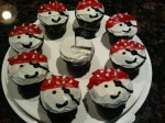 Pirate Cupcakes from Coffee with Julie site