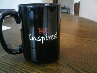 The back of my Billy Elliot mug.