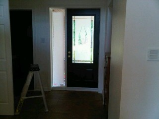 the &quot;after&quot; of the front door