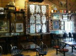Funky decor: Jimolly&#039;s Bakery Cafe, Truro