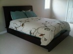 Master Bed - Wenge Wood