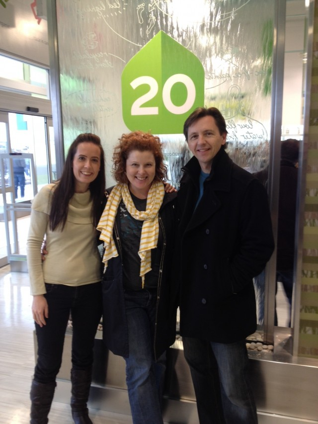 Terra20 Community Manager and Founder pictured with @coffeewithjulie