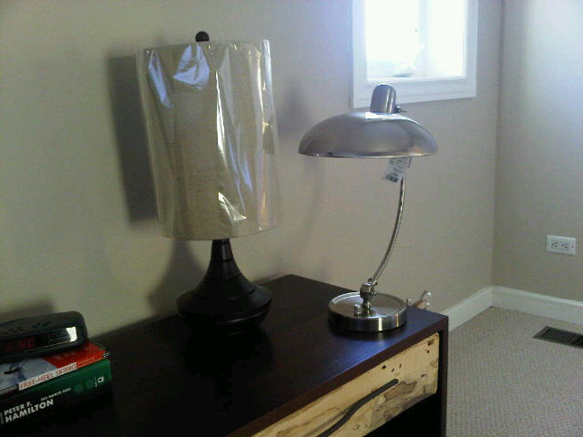 two lamp options