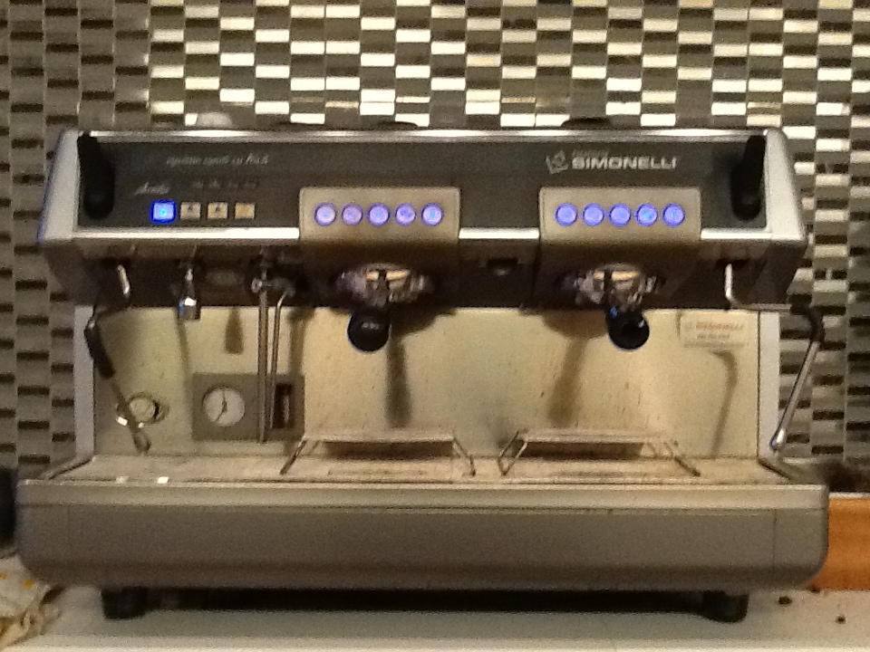 coffee machine at shopify