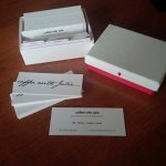 @coffeewithjulie business cards by MOO