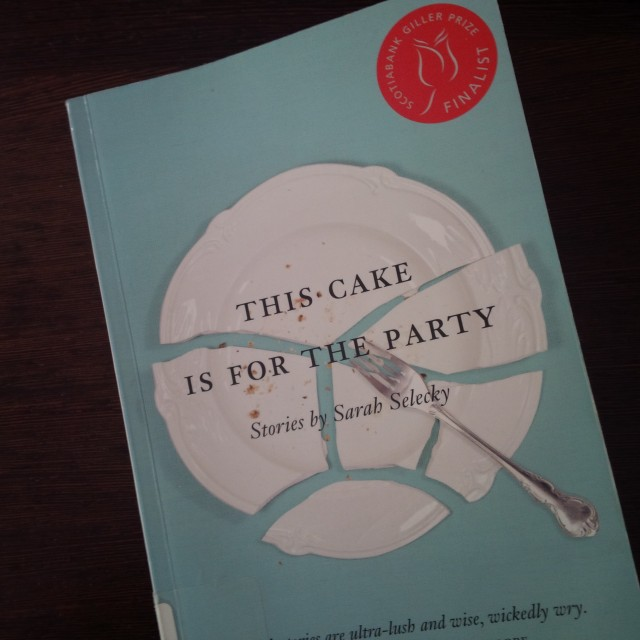 Book titled This Cake is For The Party