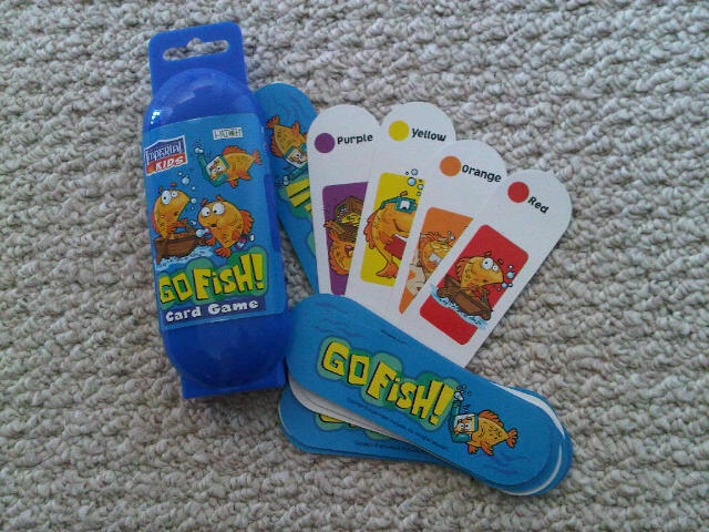Go Fish! Card game by Imperial Kids
