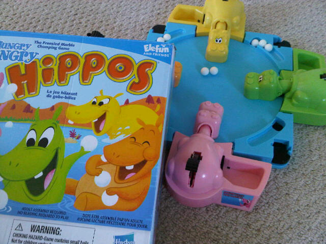 hungry hippos game by hasbro