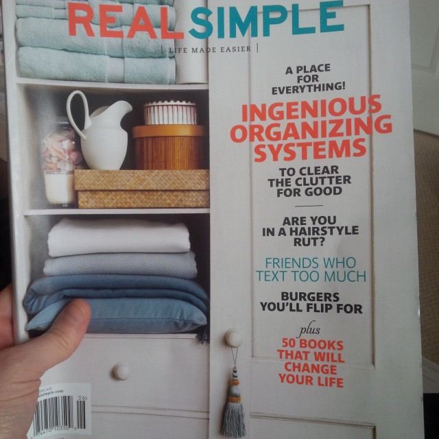 real simple magazine, June 2013