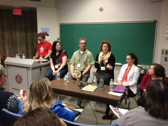 panelist at wordcamp