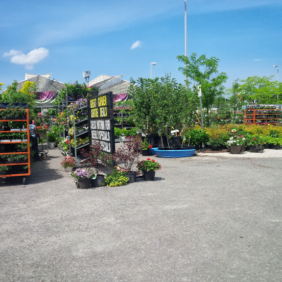 Garden Centre at Canadian Tire