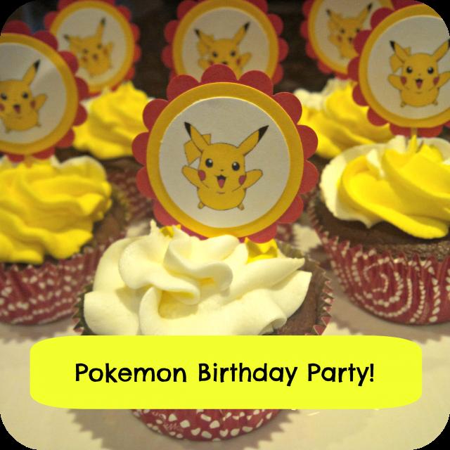 pikachu pokemon cupcakes