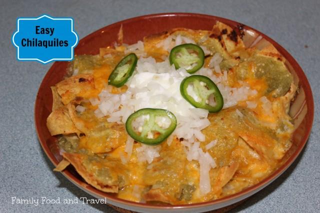 easy chilaquiles