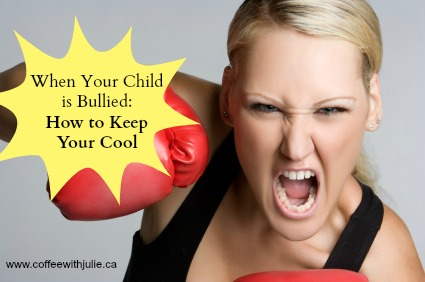 Bullying, Losing your cool