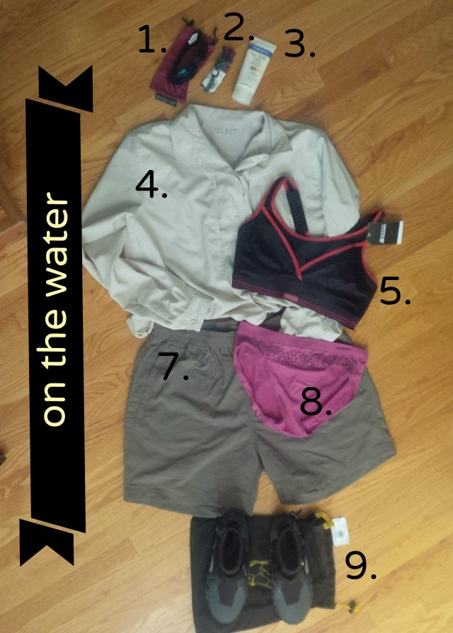 Gear and Clothing for On the Water