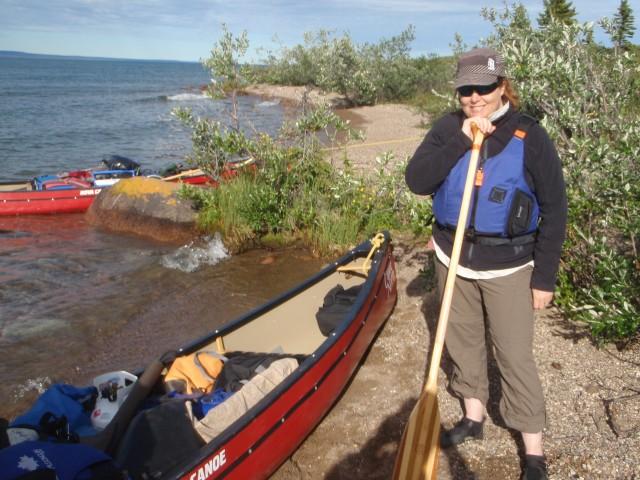 Ready to Canoe.