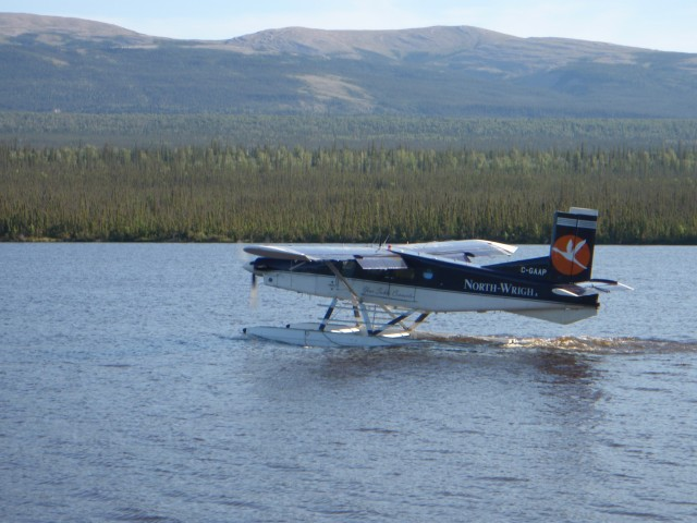 Float plane on DOT Lake
