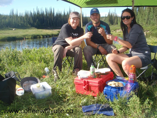 Happy hour on Great Bear River