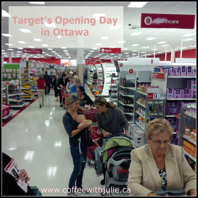 Target's Opening Day in Ottawa
