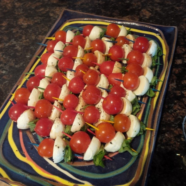 bocconcini ball appetizer