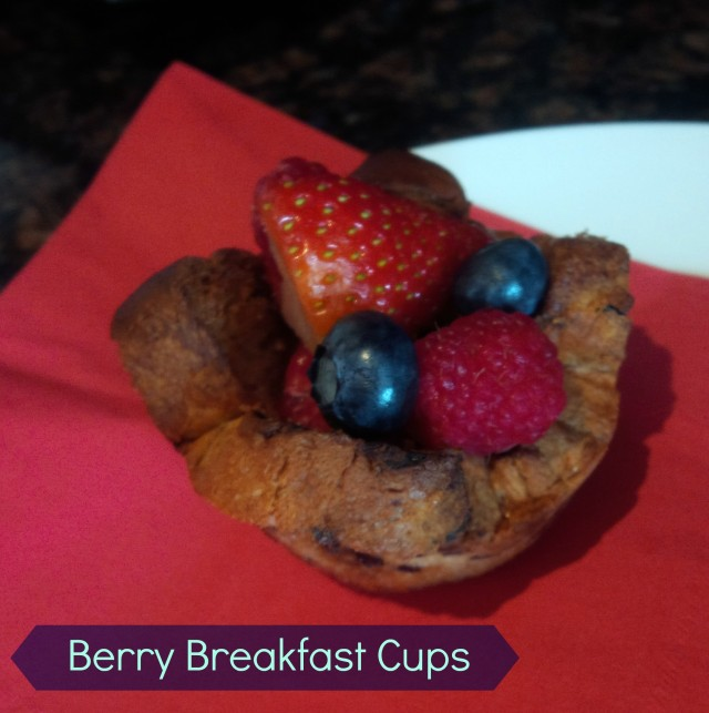 berry breakfast cups