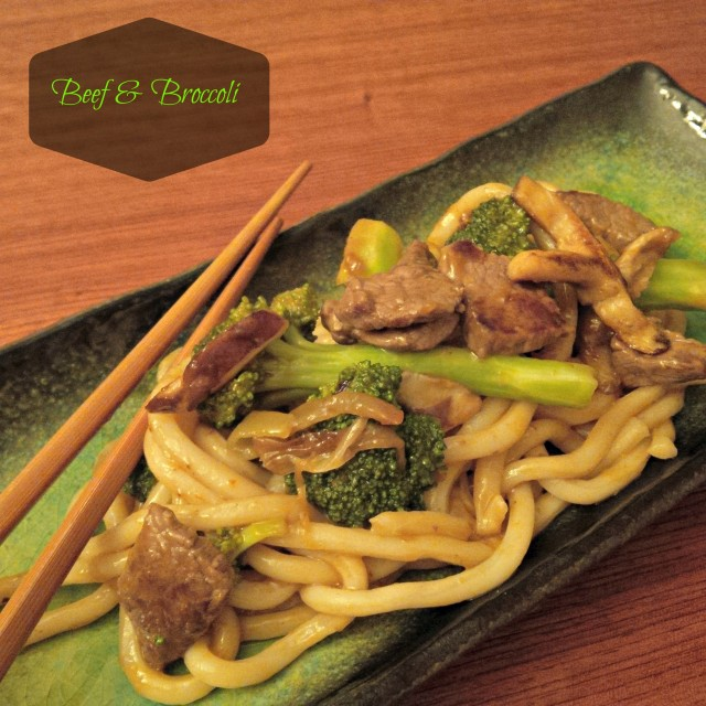 beef and broccoli stirfry