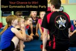 Birthday party at Starr Gymnastics