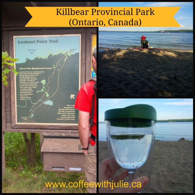 Photo collage of Killbear Provincial Park